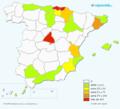Apellido Iza en España, especialmente en el País Vasco.png