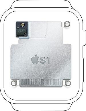 Apple S1 - Image: Apple S1 in watch