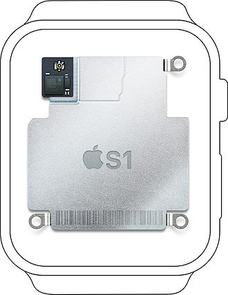 Apple S1 - Image: Apple S1 in watch