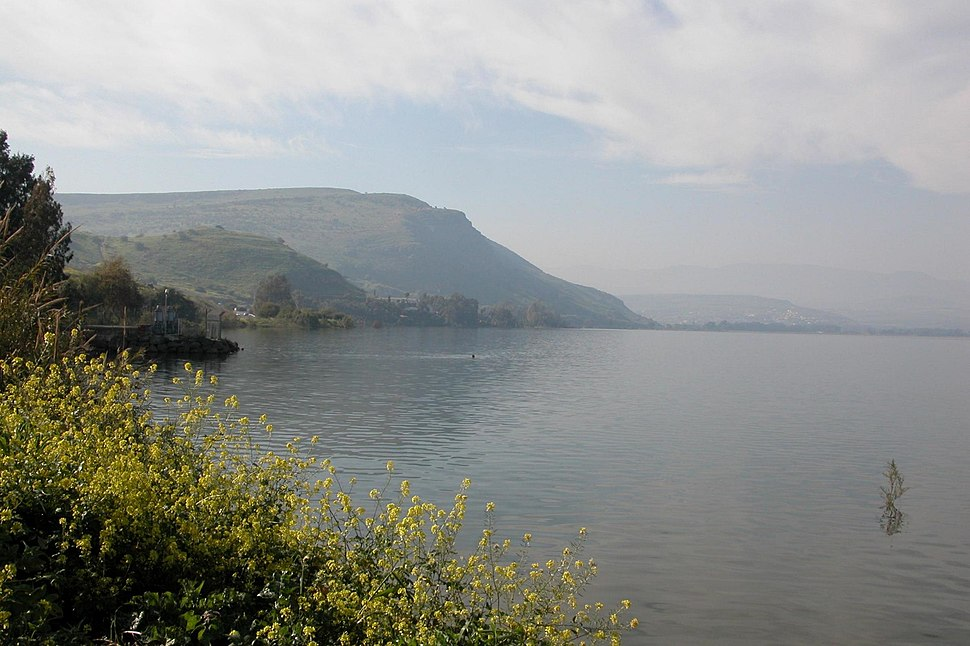 Arbel from kineret lake1