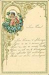 Archief Drees, Nieuwjaarswens Jansje - Archive Drees, New Year wishes from Jansje (11323291585)