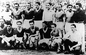 Argentinos Juniors - The team that won the Primera B championship in 1940.