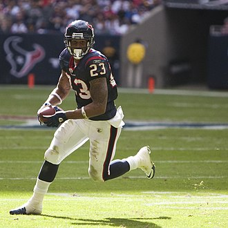 Arian Foster - Foster with the Houston Texans in 2010