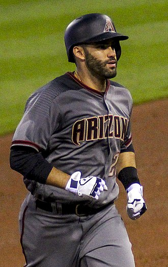 J. D. Martinez - Martinez with the Diamondbacks in 2017