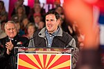 Arizona Governor Doug Ducey Speaks At Prescott Election Eve Rally (31917484378).jpg