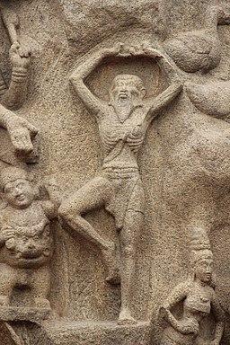 Arjuna's Penance,Mamallpuram-N-TN-C32