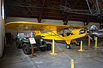 """Arkansas Air & Military Museum May 2017 14 (1944 Piper J-3 Cub and 1946 Willys CJ-2A """"Jeep"""").jpg"""