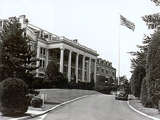 Arlington Hall - Arlington Hall Main Building (c. 1943)