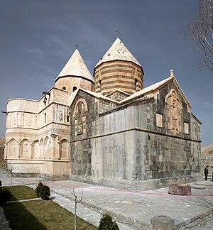 St. Thaddeus Monastery - Image: Armenian Monastery of Saint Thaddeus closeup