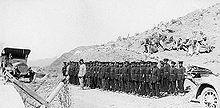 Una piccola unità dell'esercito afghano nel 1920