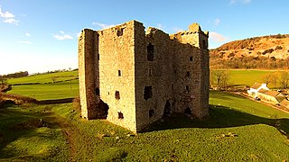 Peel tower type of small fortified keep or tower house found in parts of the UK