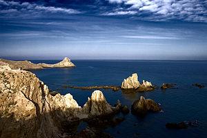 Battle of the Gulf of Almería (1591) - Image: Arrecife de las Sirenas 2 Almería (2569433323)