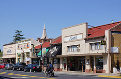The Arroyo Grande Village in 2012 seen from Branch Street.