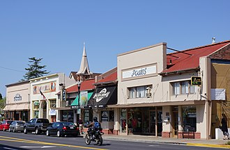 Arroyo Grande, California - The Arroyo Grande Village in 2012 seen from Branch Street.