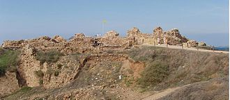 Apollonia-Arsuf - Remains of the castle