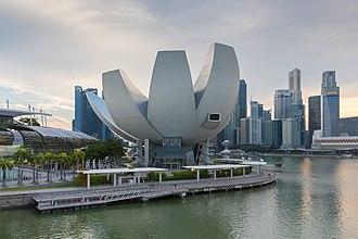 ArtScience Museum - Image: Art Science Museum, Marina Bay Sands, Singapore