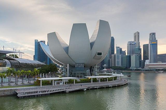 ArtScience Museum, Marina Bay Sands, Singapore