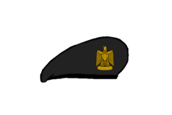 Artillery Beret - Egyptian Army.png