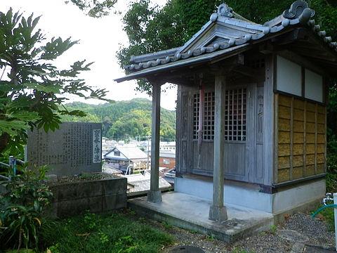 浅川観音堂、宝永津波の犠牲者を供養するために建立された観音堂。徳島県海陽町浅川。