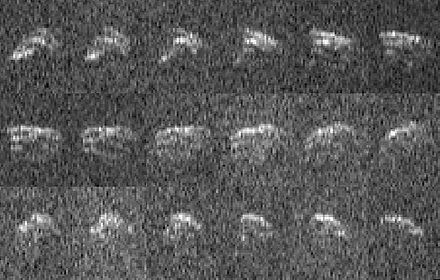 2013 EC, shown here in radar images, has a provisional designation Asteroid20130318-full.jpg