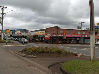 Atherton, Queensland - Atherton streets in 2006