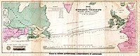Atlantic cable Map