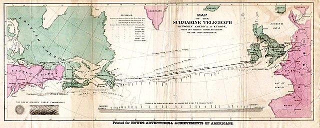 Mapa de Cable Atlántico