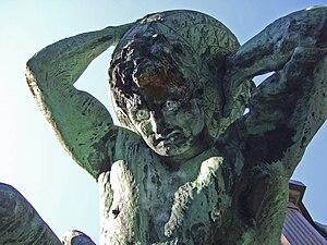 Deutsch: Atlas' Gesicht