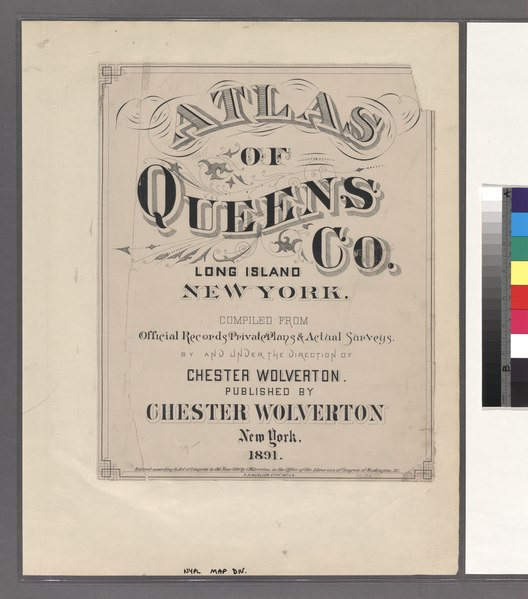 File:Atlas of Queens Co., Long Island, New York - compiled from official records, private plans & actual surveys by and under the direction of Chester Wolverton. NYPL1523069.tiff