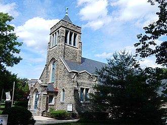Wyomissing, Pennsylvania - Atonement Lutheran Church in Wyomissing (June 2015).