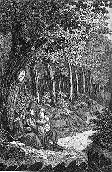 Auberlen (Mitte) im Frontispiz seiner Autobiographie (Quelle: Wikimedia)