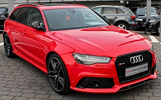 Audi RS 6 - Audi RS6 Avant (C7) finished in Misano Red