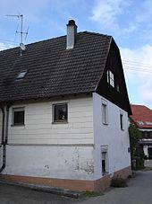 Auerbachs Geburtshaus in Nordstetten (Quelle: Wikimedia)
