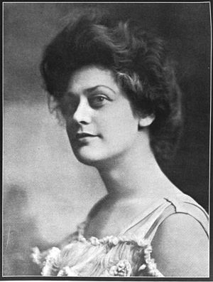 Augusta Glosé - Augusta Glosé, from a 1908 publication.