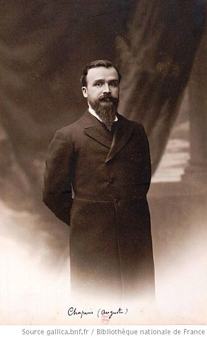 Auguste Chapuis - Auguste Chapuis in 1905