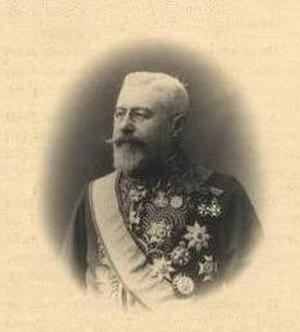 Auguste Goffinet - Baron Auguste Goffinet, twins