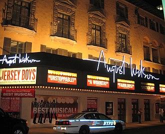 August Wilson Theatre - August Wilson Theatre at night