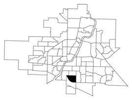 Avalon location map