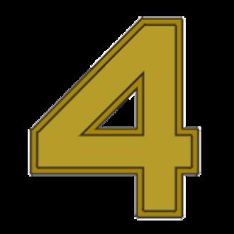 David Buss (United States Navy) - Image: Award numeral 4
