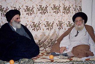 Ali al-Sistani - Ali al-Sistani and Abu al-Qasim al-Khoei
