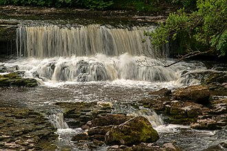 North Yorkshire - Aysgarth Falls, a popular destination for hikers, can also be reached by a short walk from the main road