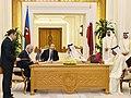 Azerbaijan, Qatar signed documents, 2017 02.jpg