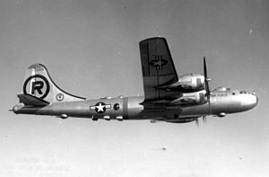 Boeing B-29 Superfortress variants - Boeing B-29A-70-BN (S/N 44-62305). Note the streamlined top turret added on block 40 A models and later.
