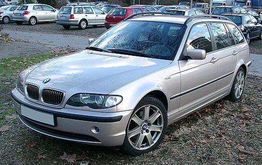 BMW E46 Touring front 20071203
