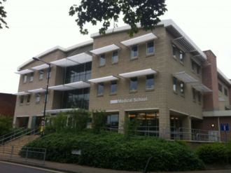 Brighton and Sussex Medical School - BSMS main building on the University of Sussex campus at Falmer