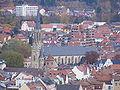 Bad Kissingen - Herz-Jesu-Kirche vom Altenberg gesehen.JPG