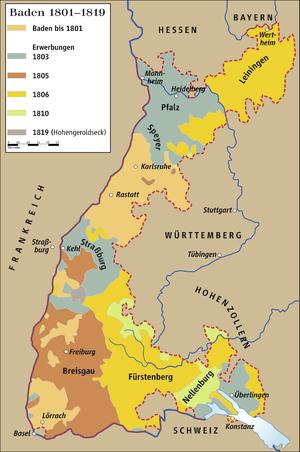 Großherzogtum Baden Jewiki