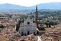 Badia fiorentina, campanile, veduta da, santa croce 01.jpg