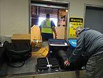 Baggage claim at Barrow, Airport, Aug 2015.jpg