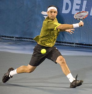 Marcos Baghdatis - Marcos Baghdatis in 2009 Delray Beach International Tennis Championships
